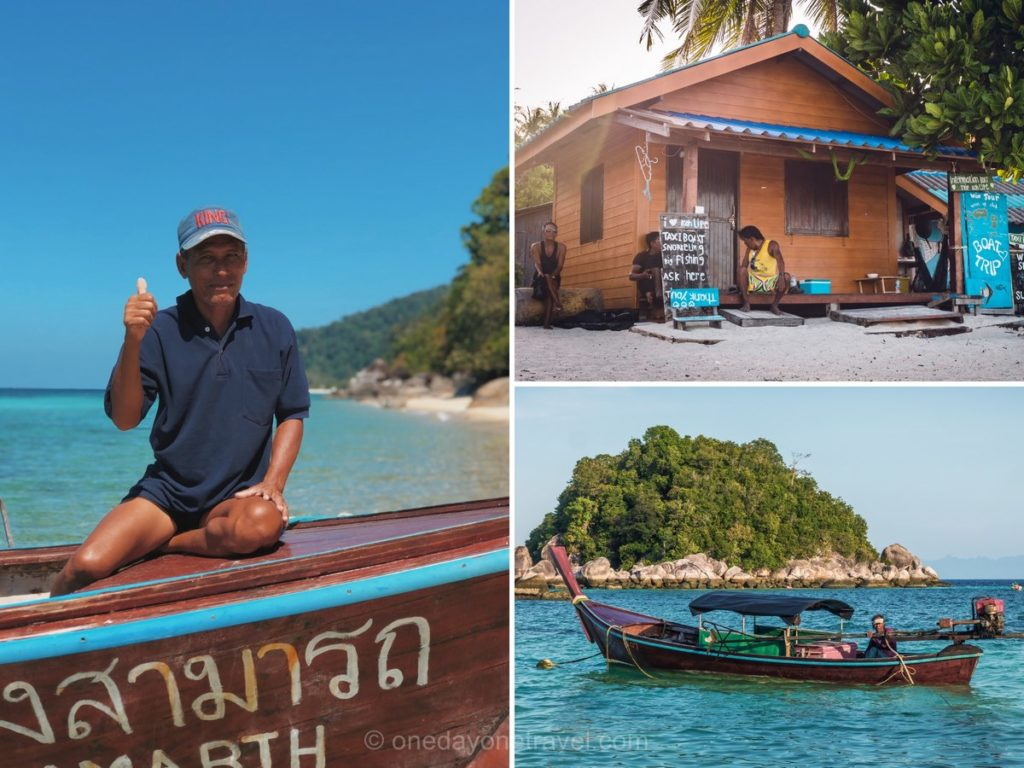 Koh Lipe island Hopping blog voyage Thaïlande