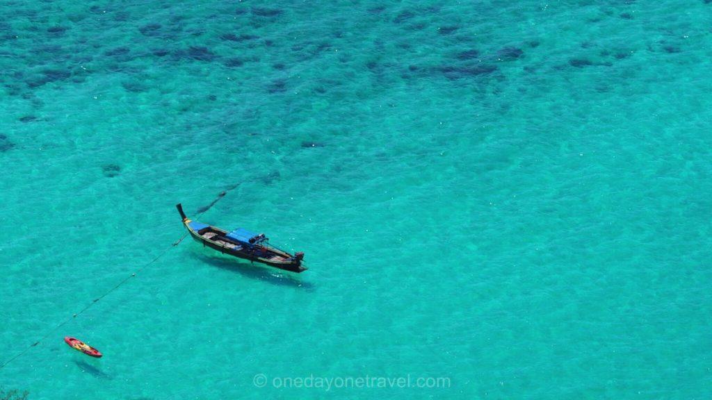 Koh Lipe ile de rêve mer turquoise