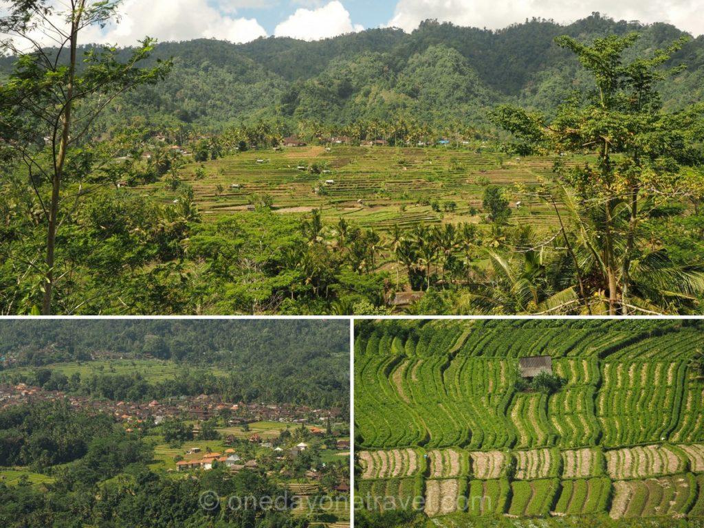 Dormir à Bali dans le village de Sidemen et ses rizières