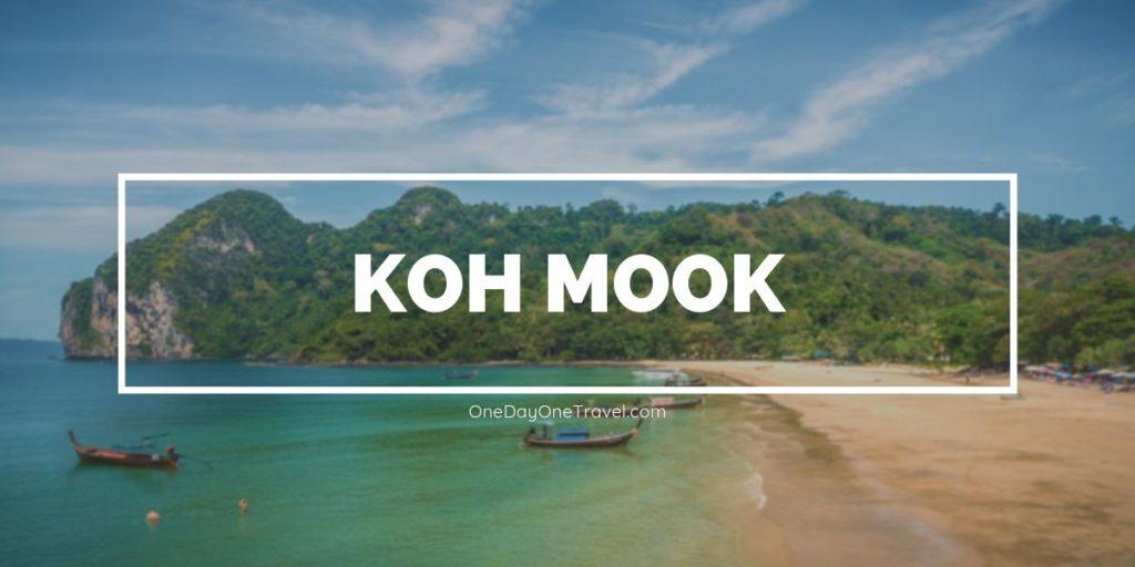 Koh Mook ou l'île authentique et préservée en mer d'Andaman en Thaïlande du Sud
