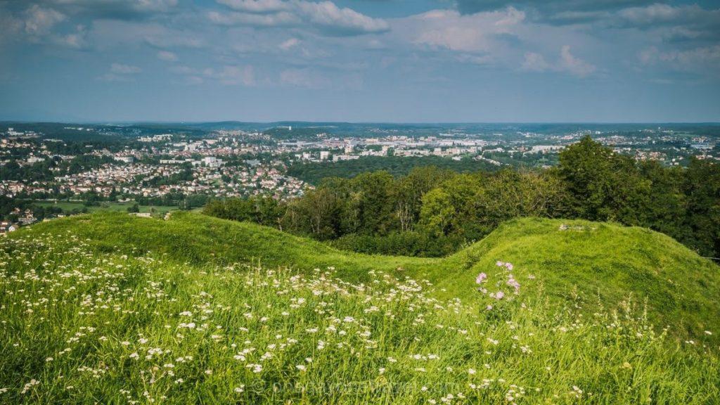 vue depuis Mont Bart Pays de Montbéliard