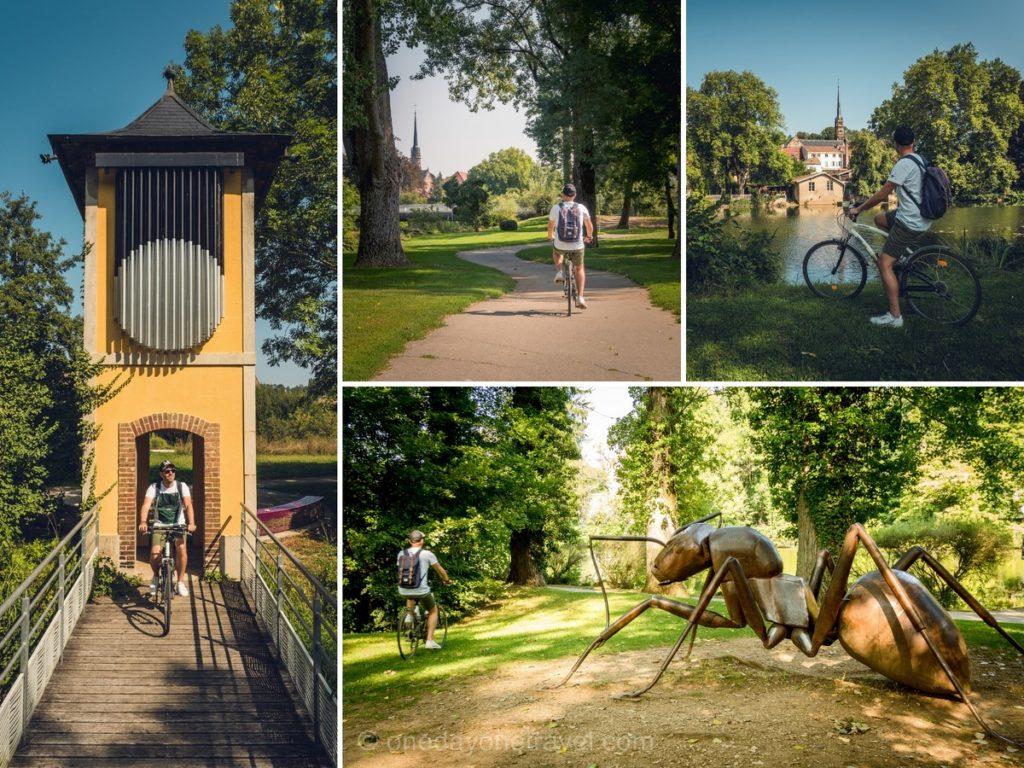 Montbéliard à vélo blog voyage sentier urbain
