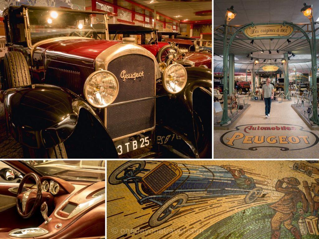 Musée aventure Peugeot Sochaux