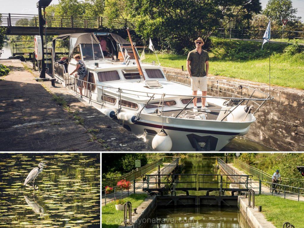 Canal Rhone au Rhin Pays de Montbéliard