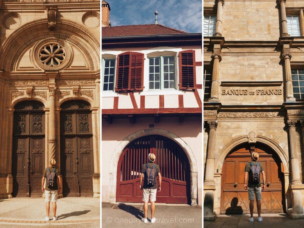 Montbéliard architecture sentier urbain visite