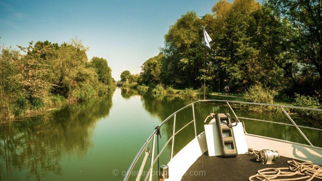 Croisière canal Rhone au Rhin Pays de Montbéliard