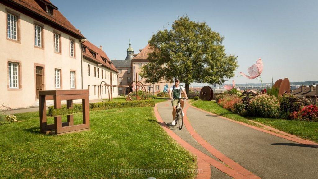 cyclotourisme centre ville Montbéliard
