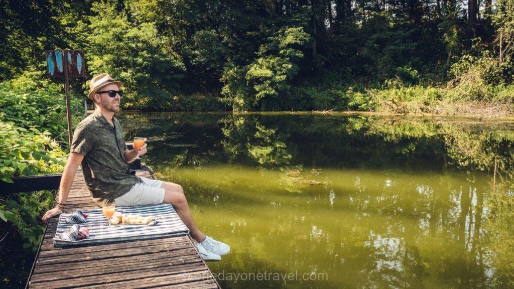 Pique Nique canal Rhone au Rhin Pays de Montbéliard