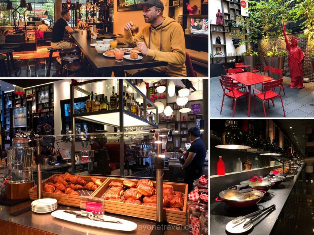 Hôtel CitizenM Times Square Petit-déjeuner - Dormir à New York