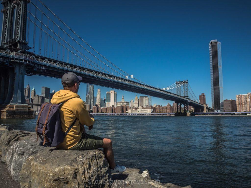 Pont de Manhattan depuis le parc Dumbo - Visiter New York