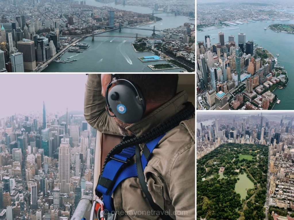 Survol en hélicoptère de New York