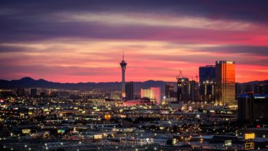 Las Vegas sunrise Stratosphere
