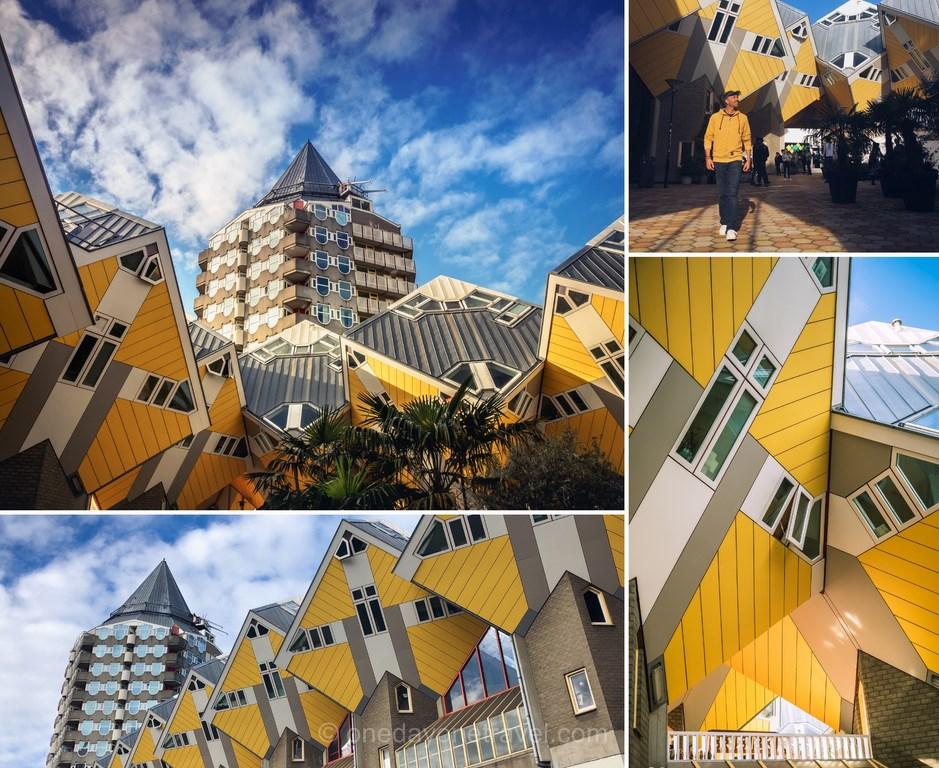 Visiter Rotterdam et ses maisons cubiques