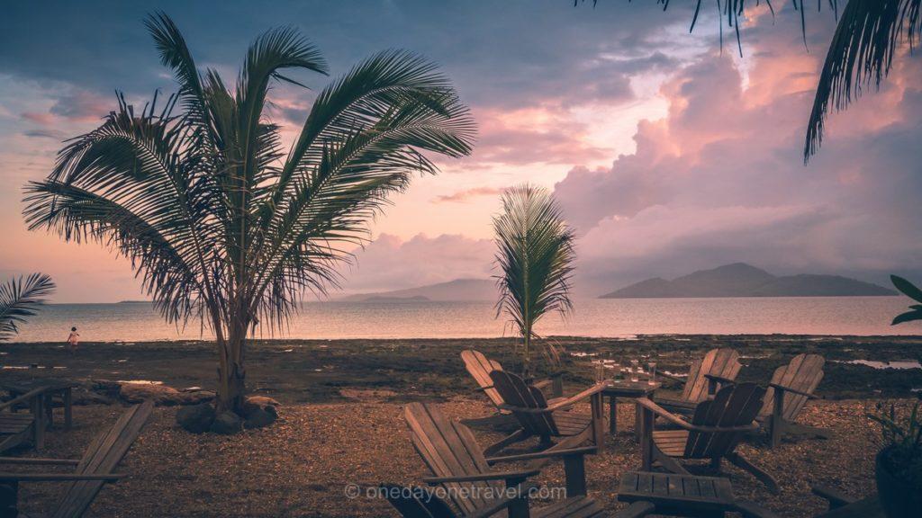 Coucher de soleil à Mayotte