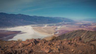 Dante's view - vue plongeante sur la vallée de la Mort