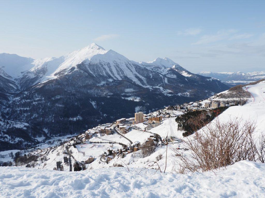 Station de sport d'hiver : Orcières dans les Hautes-Alpes