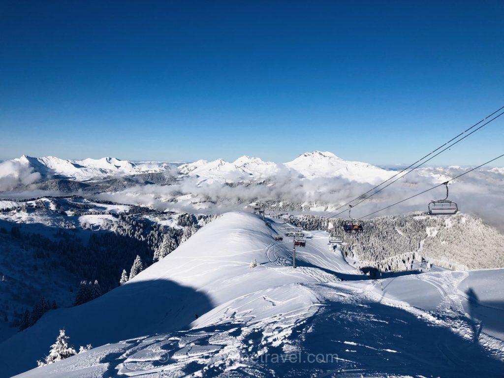 Domaine skiable de la station de sport d'hiver de Morzine