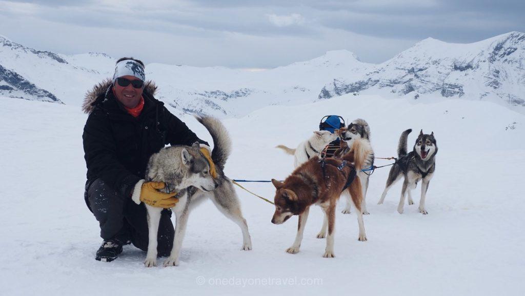 Philippe Desmurger musher et ses huskys