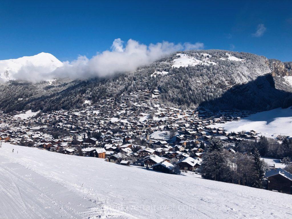 Station de sport d'hiver de Morzine : Vue panoramique