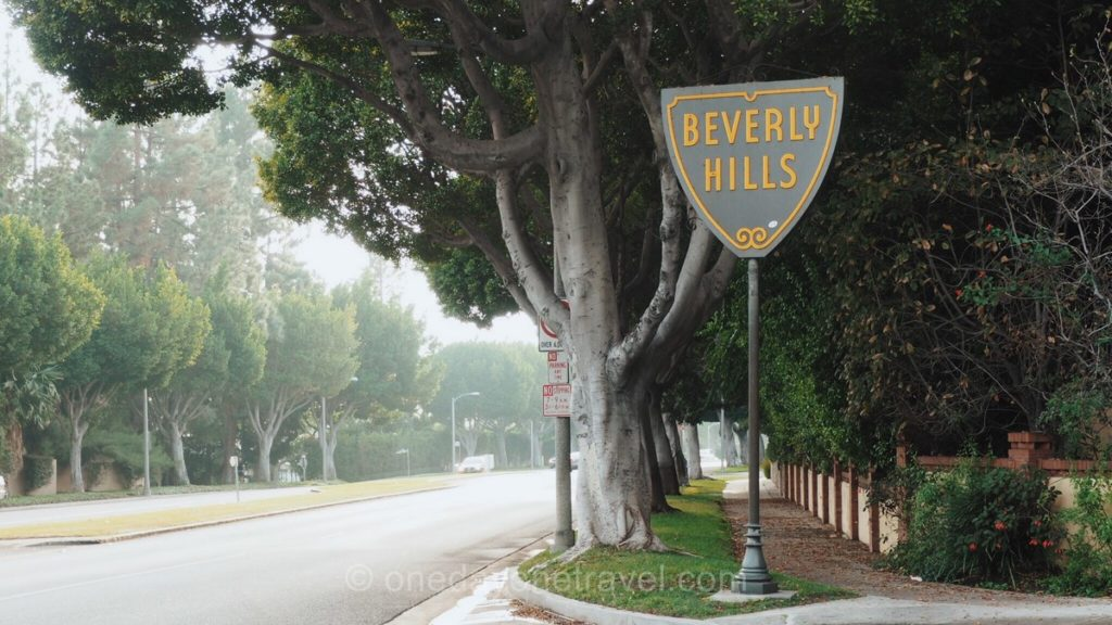 Panneau Beverly Hills - Visiter Los Angeles
