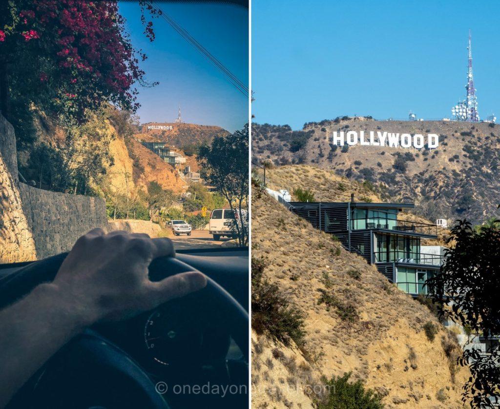 Au volant sur la Mulholland drive - Visiter Los Angeles
