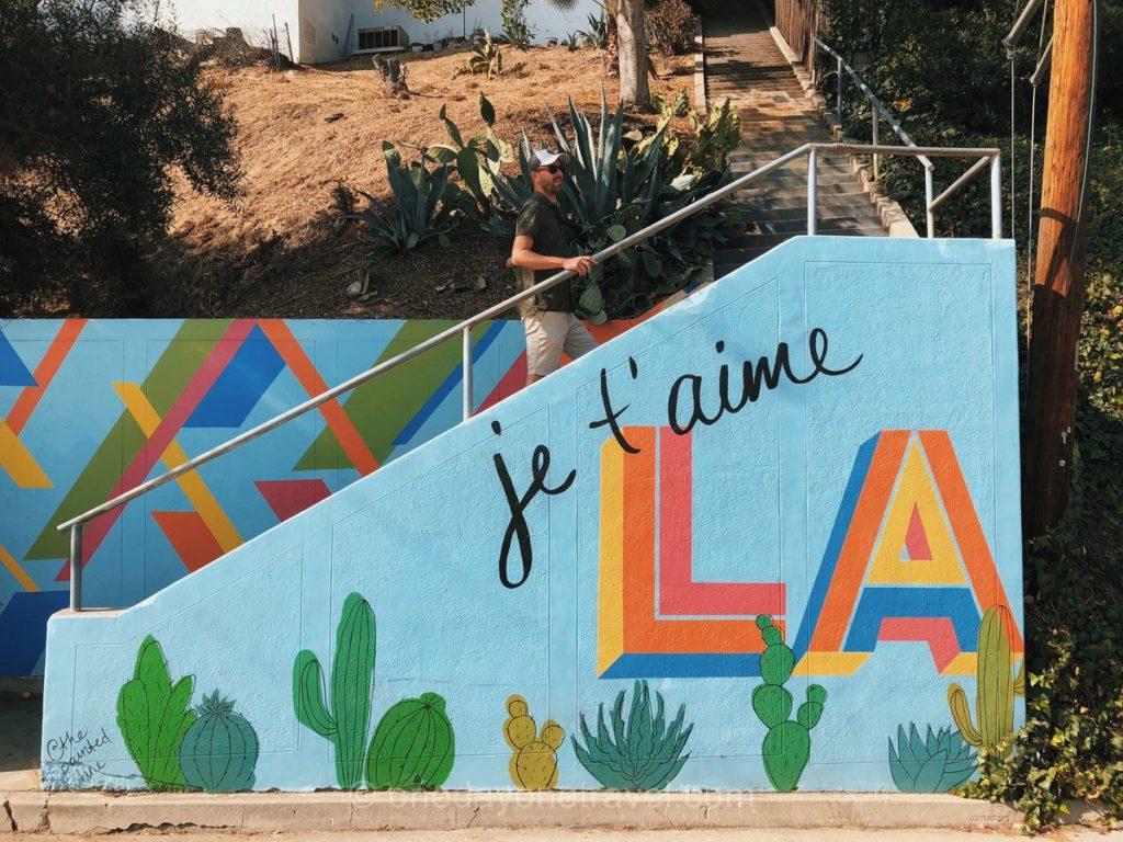 Escalier à ne pas rater à Los Angeles - Tourisme à Silver Lake
