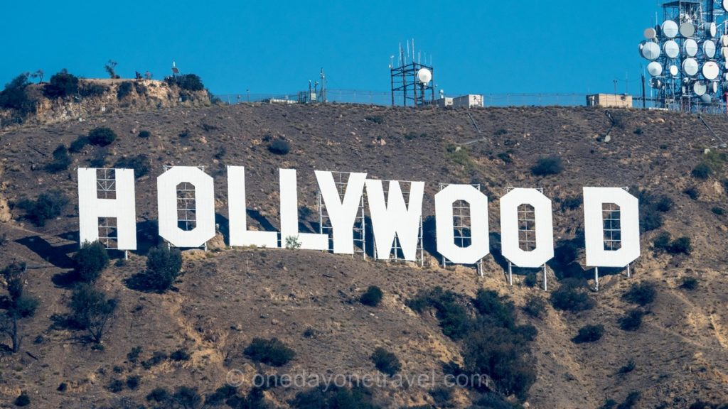 Lettres géantes d'Hollywood à Los Angeles