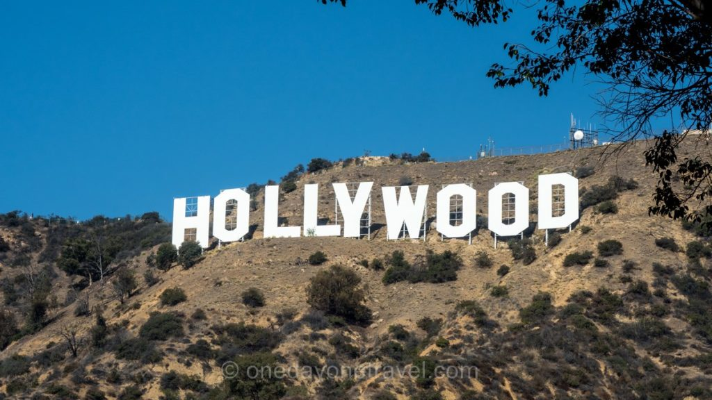 Panneau Hollywood - Visiter Los Angeles