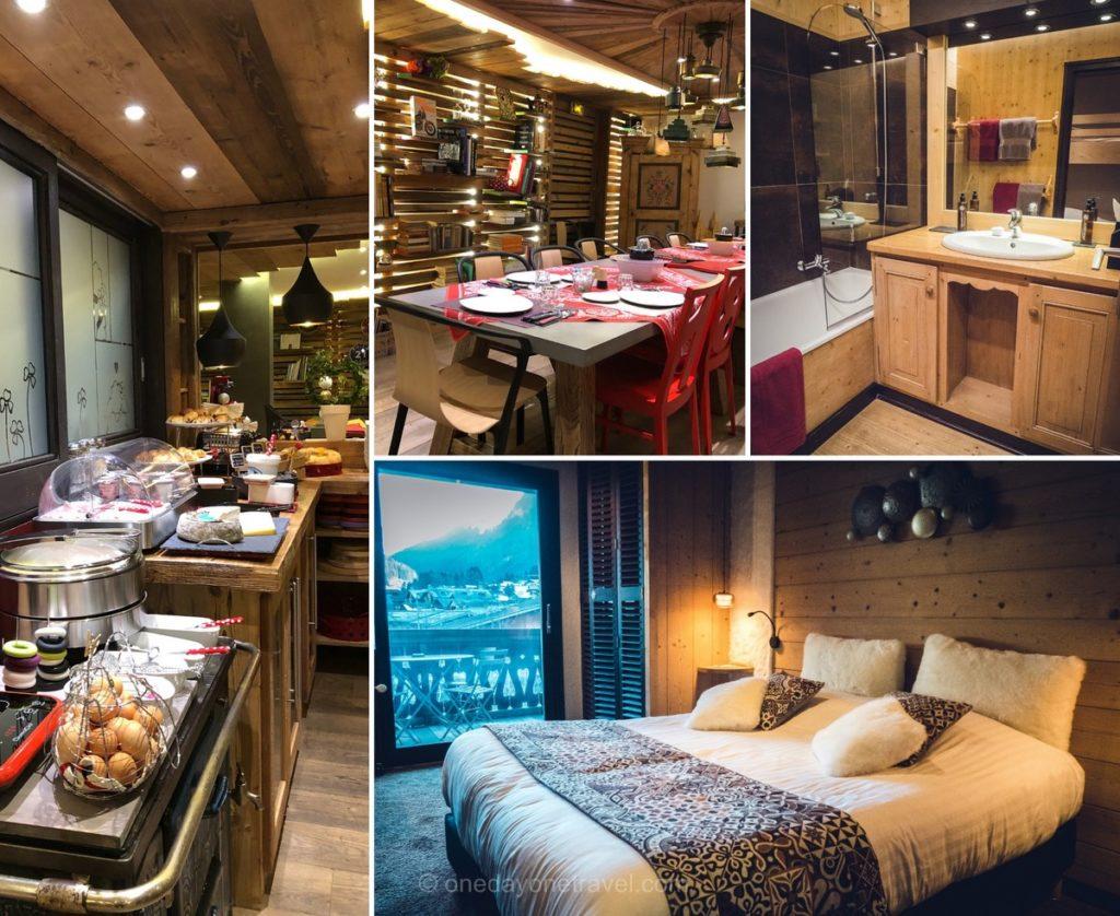 Chambre et petit-déjeuner - Hôtel La Bergerie à Morzine