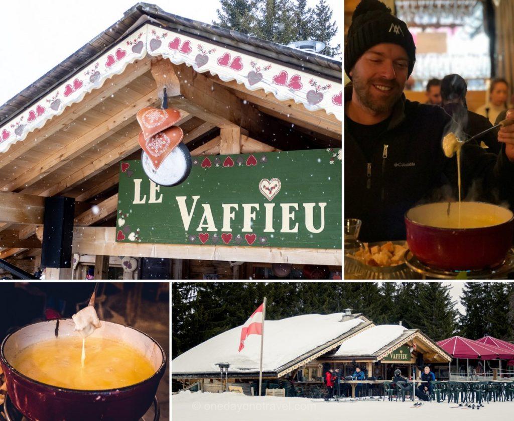 Restaurant d'altitude Le Vaffieu - Les Gets Morzine