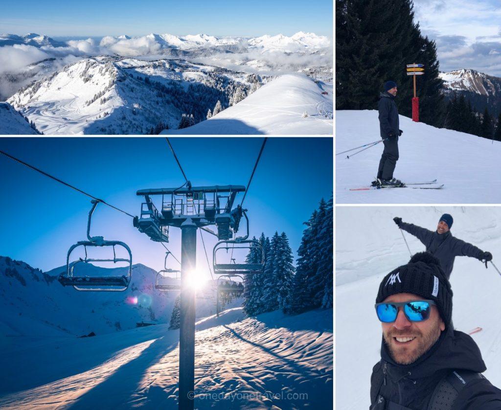 Ski à Morzine en hiver - Blog voyage OneDayOneTravel
