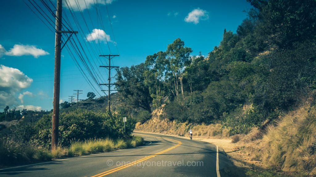 Mulholland drive - Visiter Los Angeles et les collines d'Hollywood en Californie