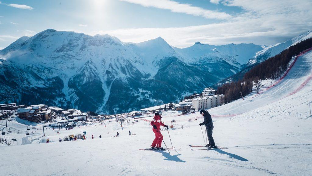 Séjour au ski dans la station de sports d'hiver d'Orcières