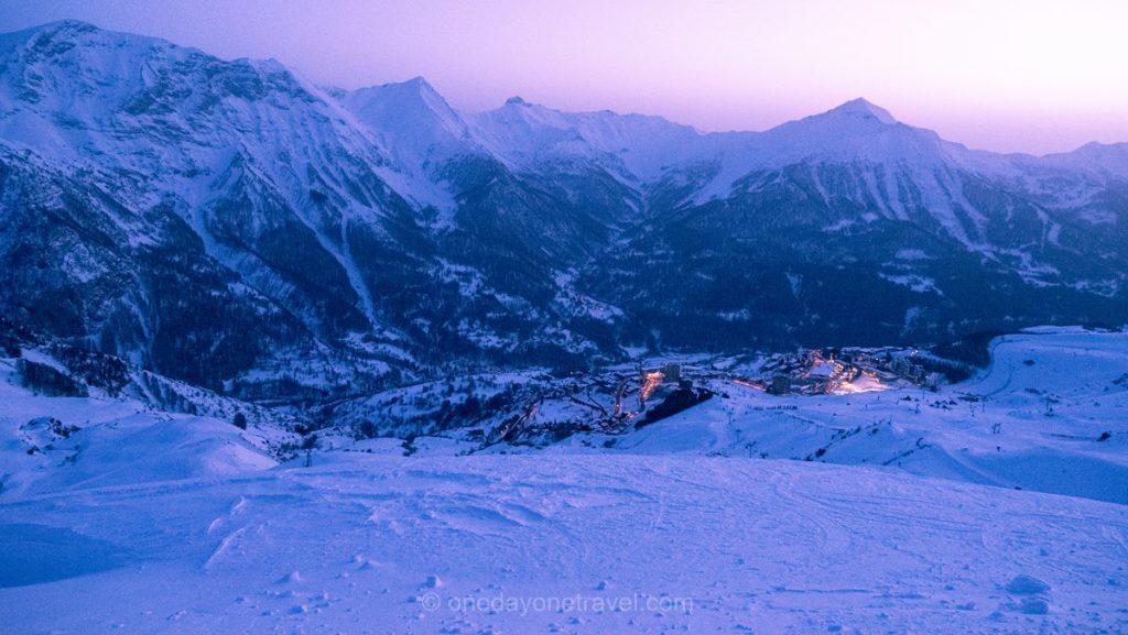 Station de sports d'hiver d'Orcières - Guide blog voyage OneDayOneTravel