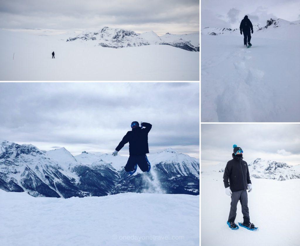 Randonnée raquettes à neige à Orcières