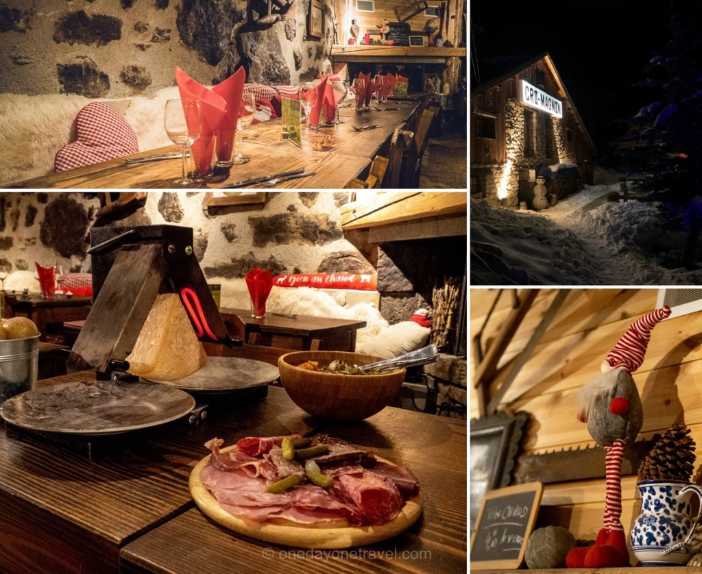 Restaurant Le Cro-Magnon à Orcières