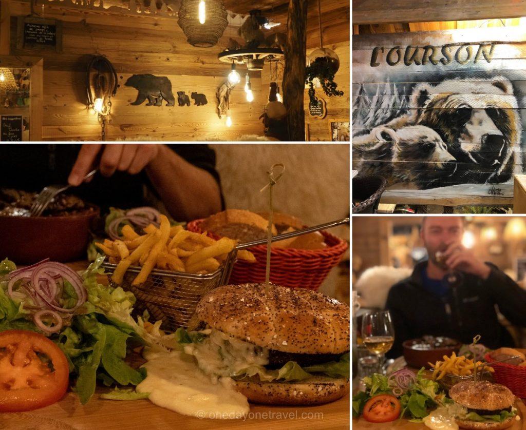 Restaurant L'Ourson à Orcières