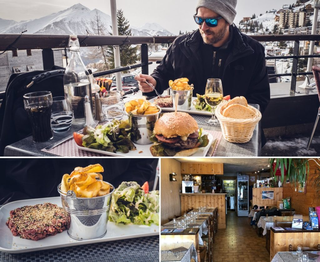 Restaurant terrasse Chez Francis à Orcières