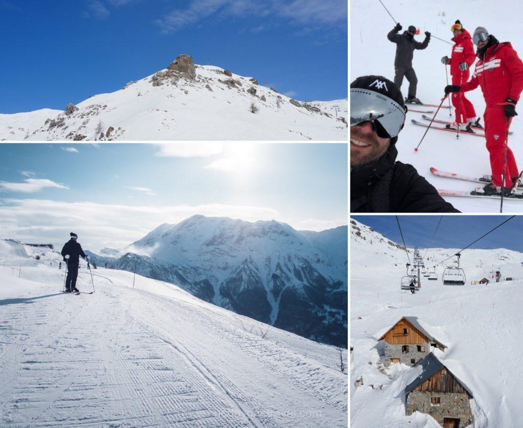 Cours de ski à Orcières-Merlette 1850