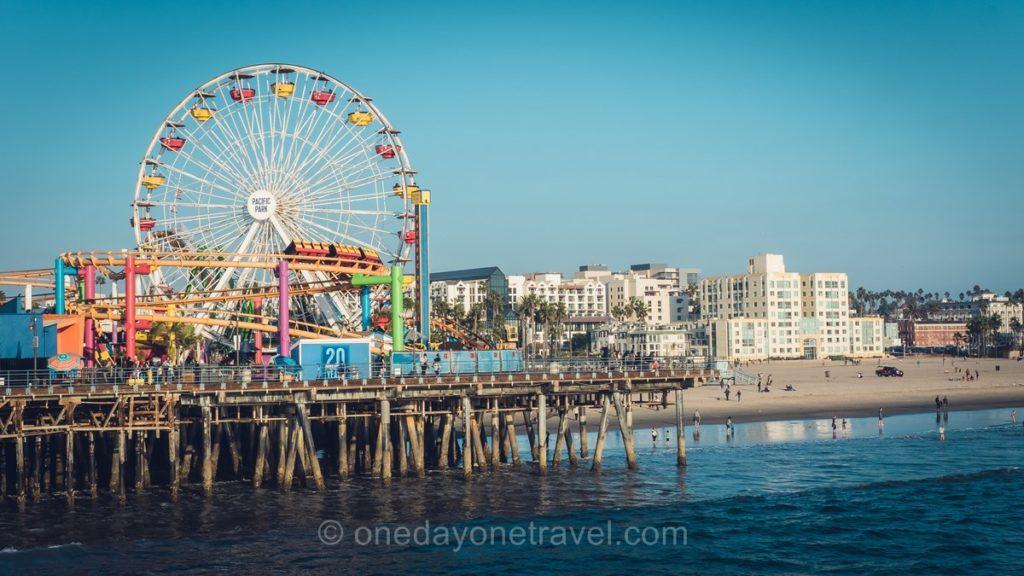 Jetée et roue à Santa Monica - Visiter Los Angeles