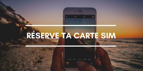 Réserve ta carte SIM avant de partir en vacances - Blog voyage OneDayOneTravel