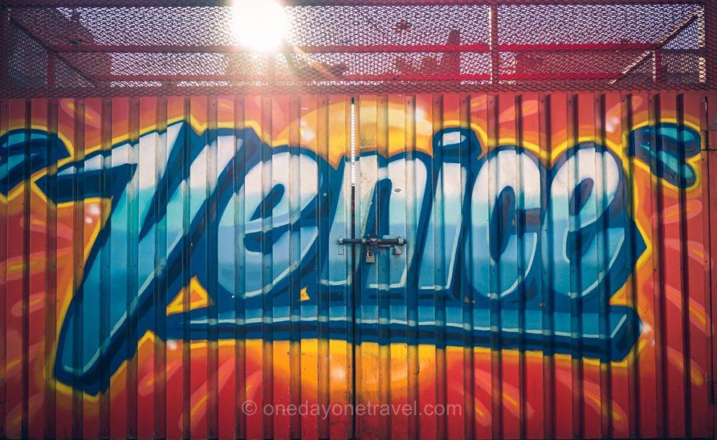 Murale VENICE à Los Angeles