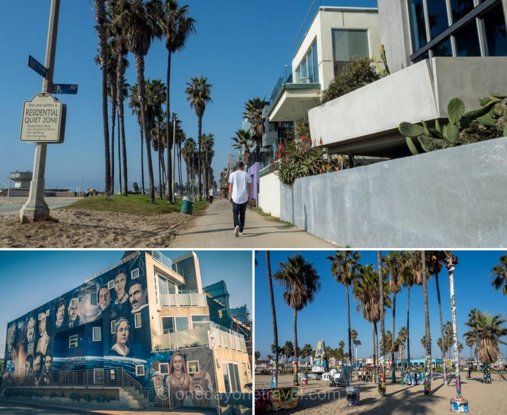 Visiter Los Angeles et le front de mer de Venice beach