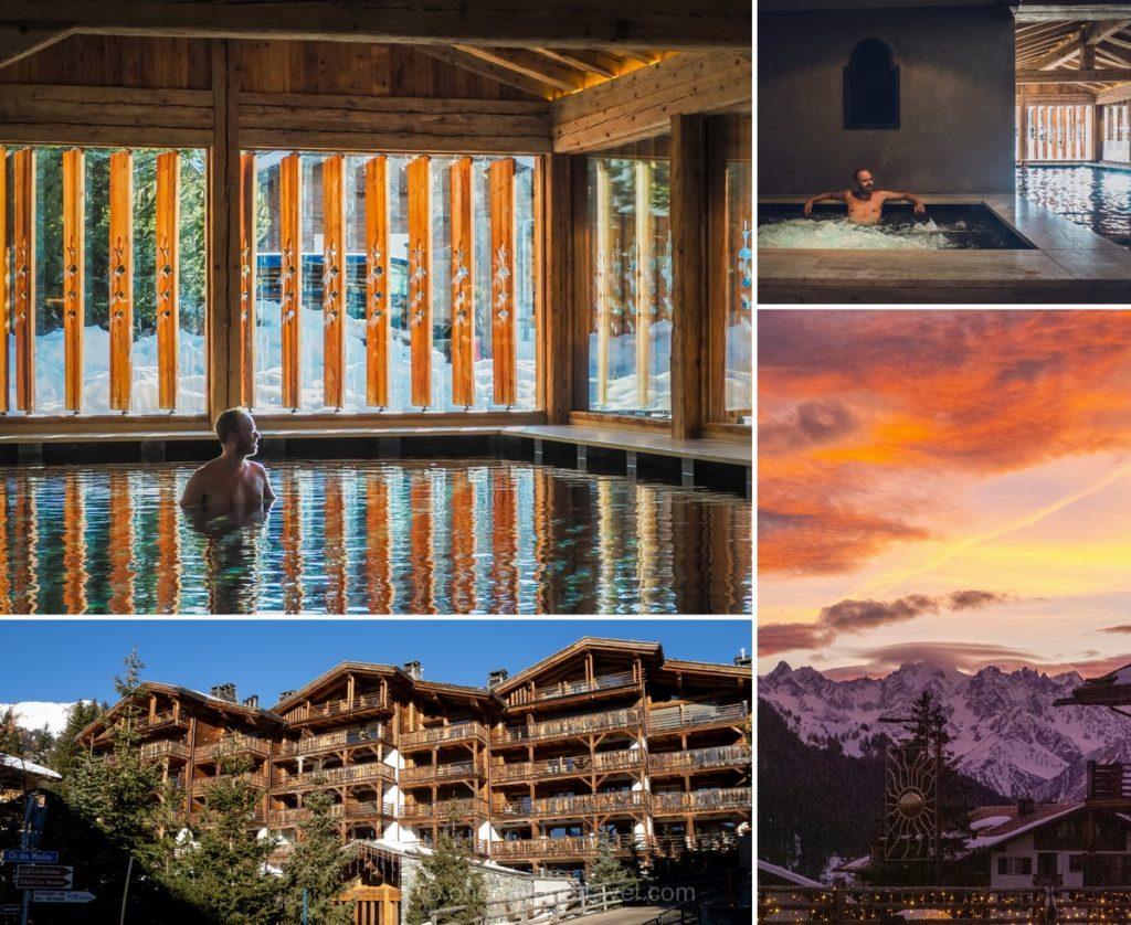 Bien-être et spa à l'hôtel de la Cordée des Alpes à Verbier