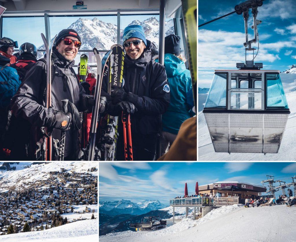 Matinée ski avec un moniteur à Verbier