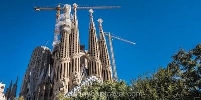 Visite guidée de la Sagrada Familia et du Parc Güell avec billets coupe-file