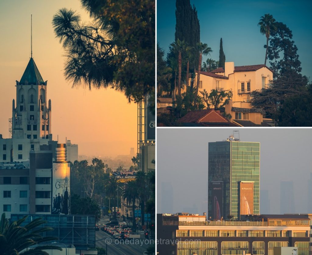 Vues insolites sur Los Angeles depuis maison louée sur Airbnb