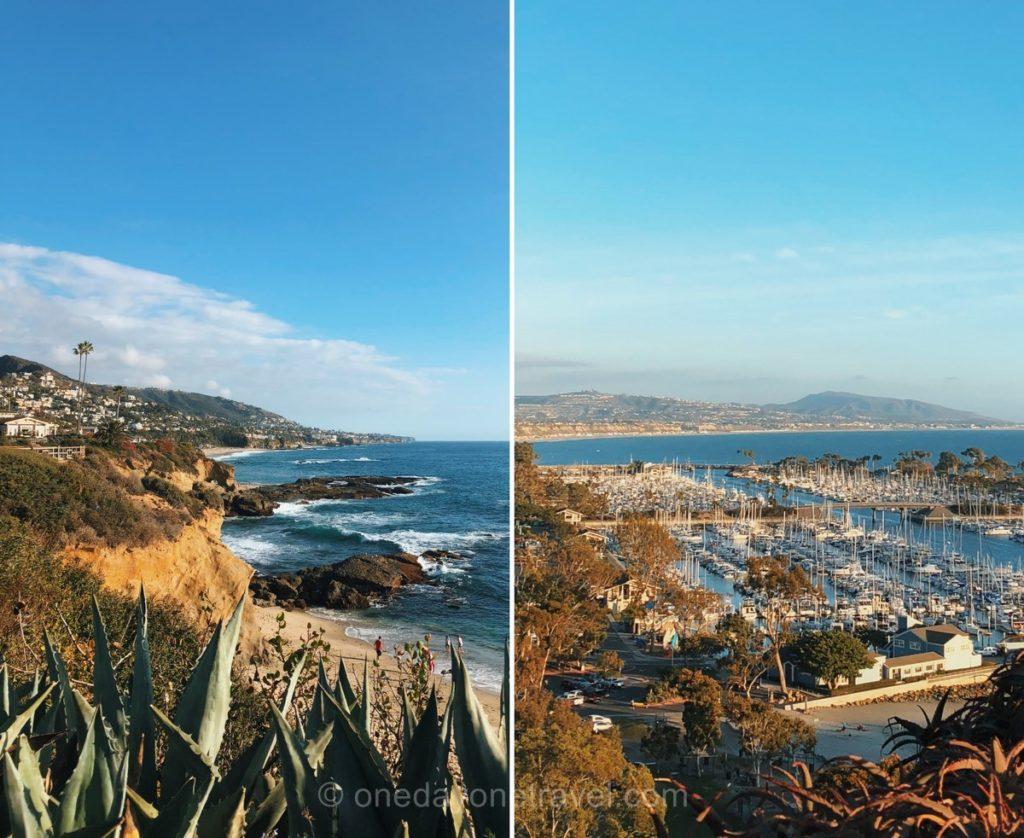 Côte sud entre Los Angeles et San Diego en Californie - Panoramas