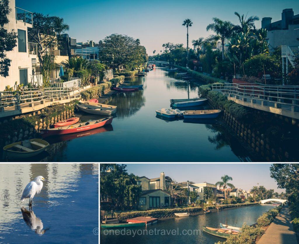 Canaux de Venice à Los Angeles