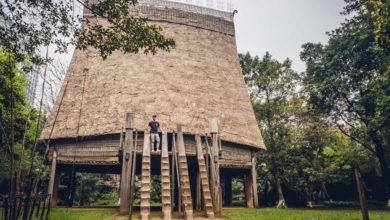 Musée ethnographique du Vietnam à Hanoï Architecture maison traditionnelle